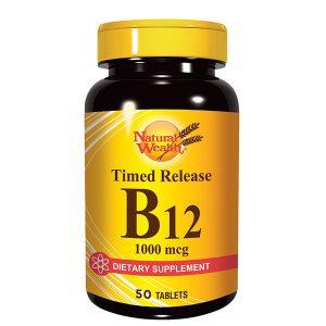 NW Vitamin B-12 1000mcg 50 tbl