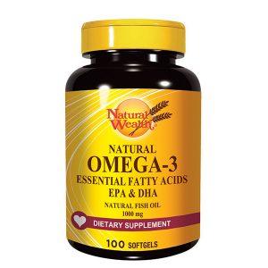 NW NATURAL OMEGA-3, 100 kapsula