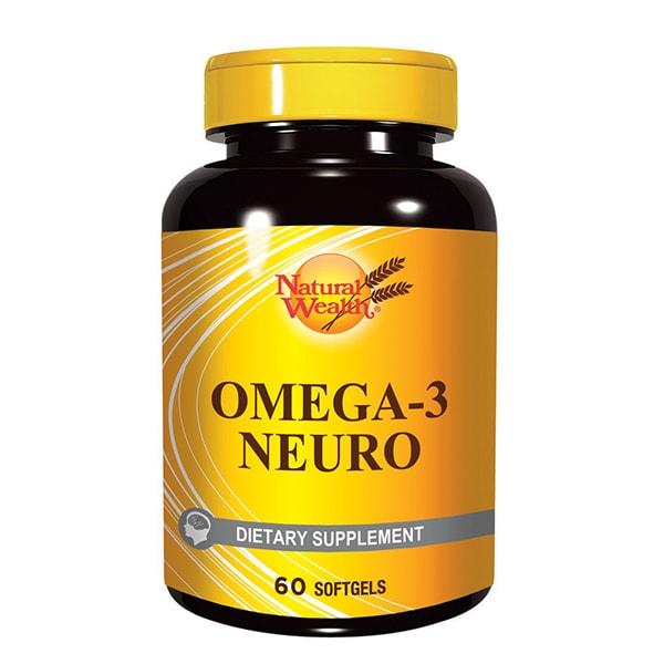 NW OMEGA-3 NEURO, 60 kapsula